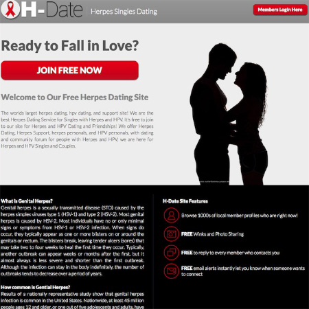 Online dating sites for people with herpes
