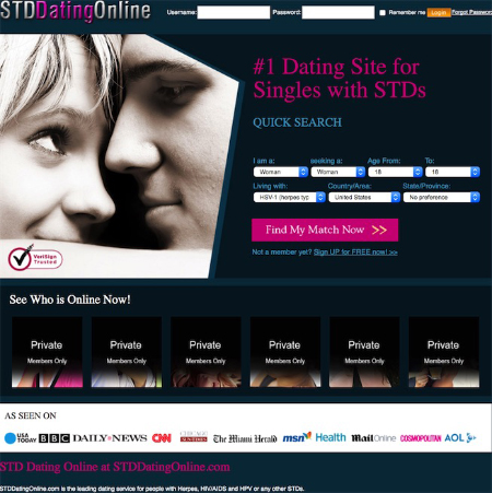 Online dating sites herpes